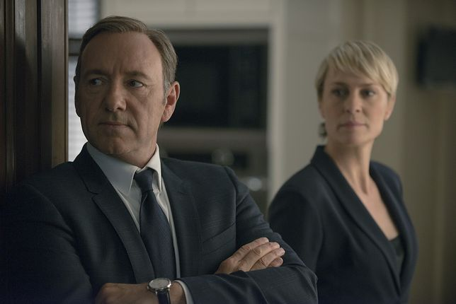 "Kadr z serialu ""House of Cards"", Netflix"