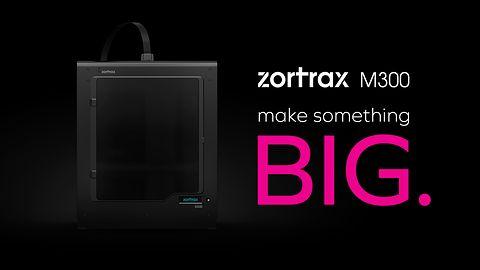 Nowa polska drukarka 3D Zortrax M300 zaprezentowana dziś w Amsterdamie #prasówka