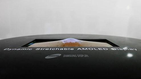 Samsung zaprezentuje rozciągalny wyświetlacz: odkształcenia do 12 mm