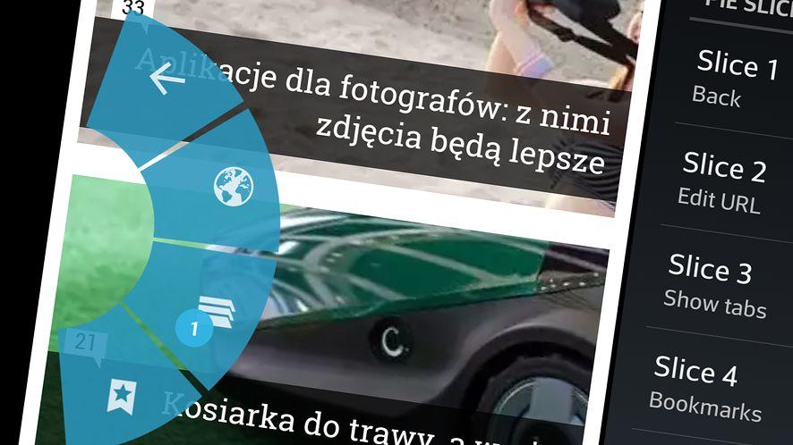 Dzięki ChromePIE możemy korzystać z przeglądarki za pomocą gestów