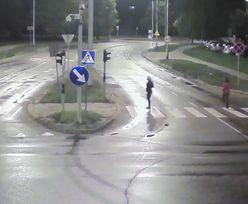 Tajemnicza śmierć w Olsztynie. Policja publikuje nagranie i prosi o pomoc