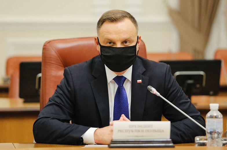 """Andrzej Duda zawetował ustawę PiS. """"Ma do tego konstytucyjne prawo"""""""