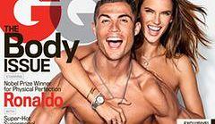 "Alessandra Ambrosio i Cristiano Ronaldo na okładce ""GQ"""
