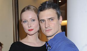Mateusz Damięcki z byłą żoną Patrycją Krogulską