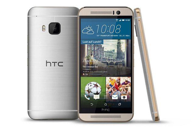 Niemcy niechcący pokazali HTC One M9 przed premierą