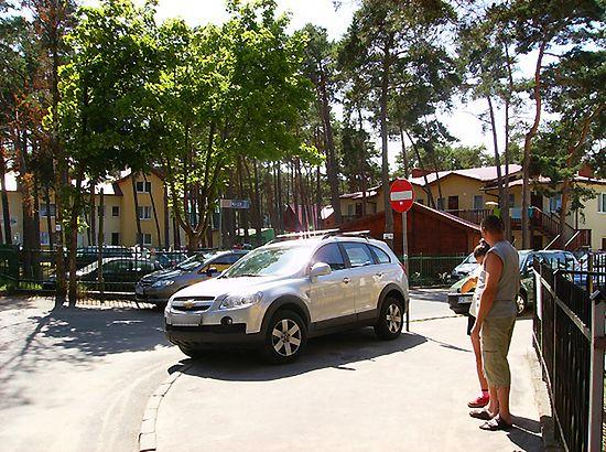 Parkowanie z ułańską fantazją - zdjęcia