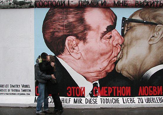 Berlin wciąż podzielony - zobacz zdjęcia