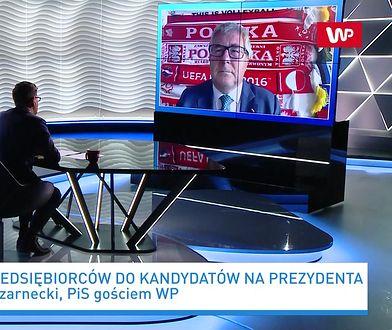 """""""Arogancja, to nie było potrzebne"""". Ryszard Czarnecki o słowach Zbigniewa Bońka po wyborach"""