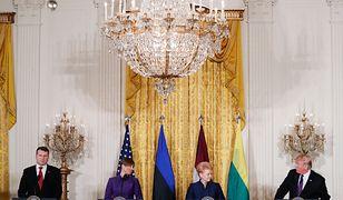 Przywódcy bałtyckiej trójki w Białym Domu