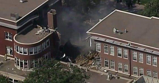 Eksplozja w szkole w Minneapolis. Są zabici i ranni