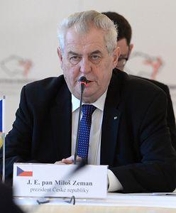Prezydent Czech trafił do szpitala. Jaki jest stan zdrowia Milosza Zemana?