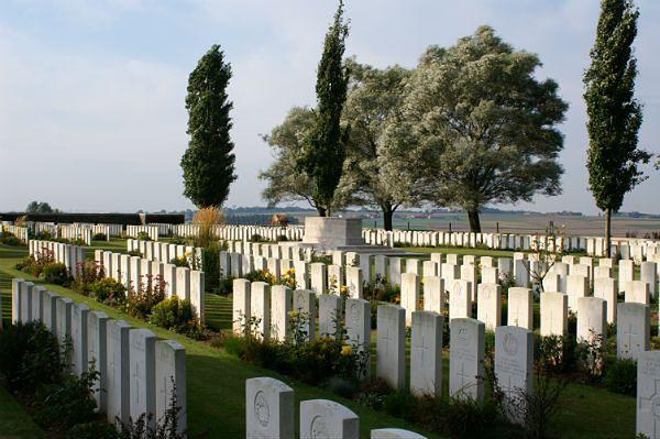 Cmentarz wojenny w Messines