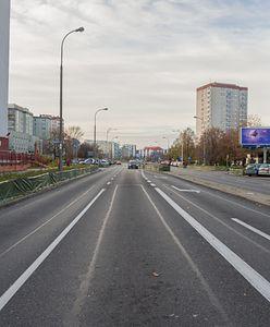 """Warszawa. """"Obwodnica"""" Gocławia. Ulica Abrahama jak nowa"""