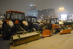 Warszawa oszczędzi 60 mln na odśnieżaniu ulic