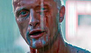 "Rutger Hauer w filmie ""Łowcy Androidów"""