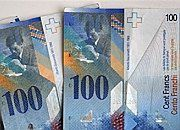 Szwajcarski frank dalej się umacnia