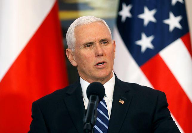 1 września. Wiceprezydent USA Mike Pence przyleci do Polski zamiast Donalda Trumpa. Są zmiany w programie wizyty