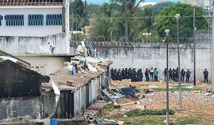 Krwawa wojna gangów w Brazylii. W więzieniach zginęło już 140 osób, ofiar może być znacznie więcej