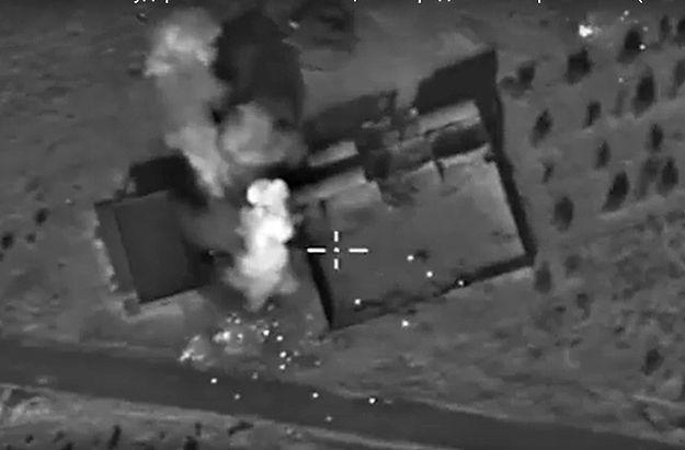 Rosyjskie bombardowanie w Syrii