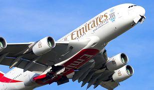 Samolot linii lotniczych Emirates