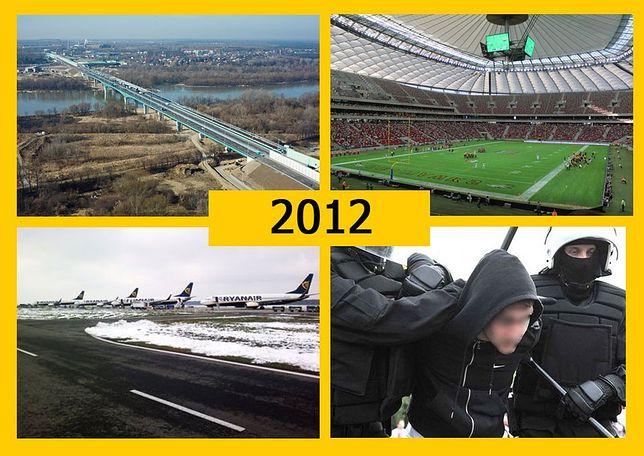 TOP 10. Sukcesy i porażki Warszawy 2012