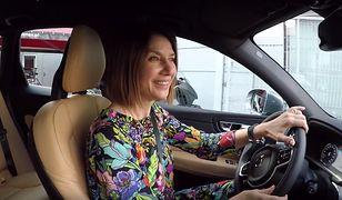 Grażyna Wolszczak pierwszy raz w swoim Volvo XC60.