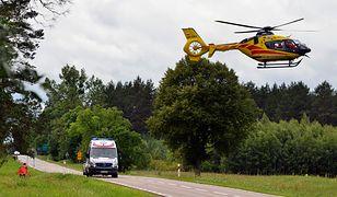 Reanimacja, prowadzona przez załogę śmigłowca Lotniczego Pogotowia Ratunkowego, nie przyniosła efektów