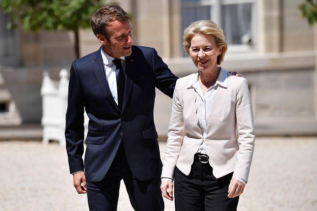 Ursula von der Leyen w pierwszej kolejności odwiedziła Paryż