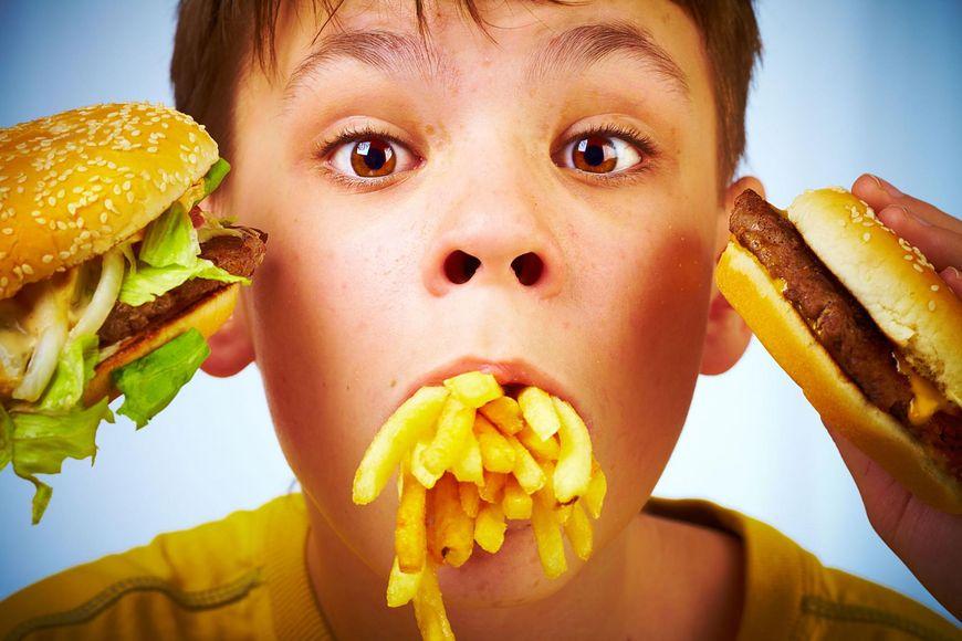 Dzieci i fast food