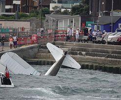 Katastrofa podczas pokazu lotniczego w Bournemouth. Samolot wpadł do wody