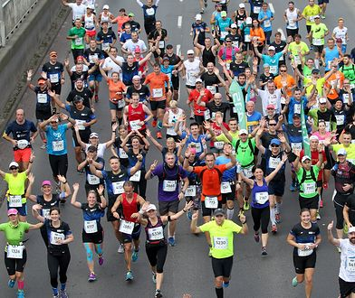 Orlen Warsaw Marathon 2019. Ponad 5 tys. osób przebiegnie przez warszawskie ulice