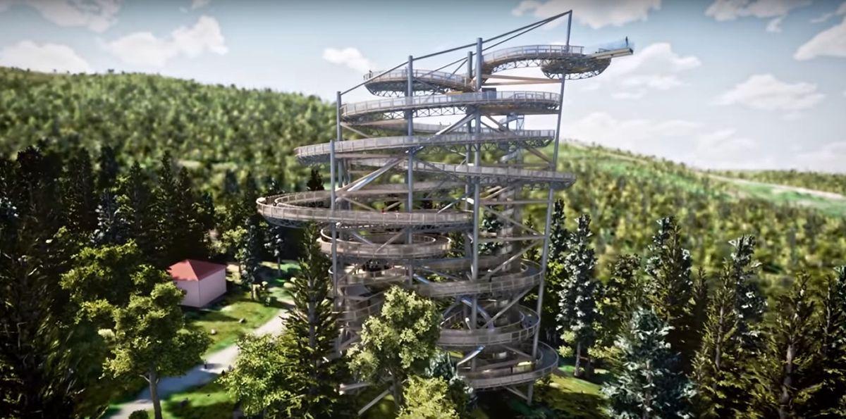 Wieża ma być najwyższą tego typu atrakcją w Polsce