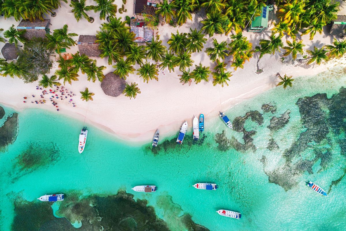 Plaże na Dominikanie są boskie