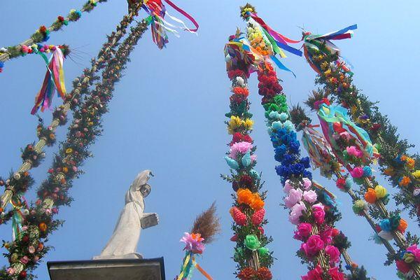 Katolicy świętują Niedzielę Palmową