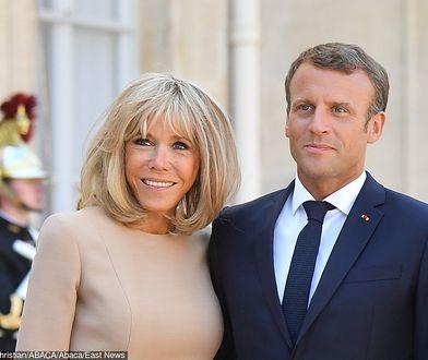 Brigitte Macron odniosła się do kontrowersyjnego wpisu prezydenta Brazylii