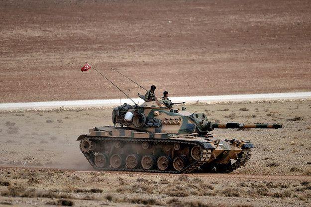 Turcja za interwencją lądową w Syrii, ale razem z sojusznikami
