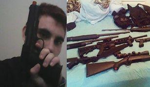 Prywatne zdjęcia zabójcy z Florydy szokują. Zobacz, co wrzucał do sieci