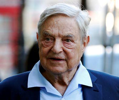Prawica krytykuje polityczne wpływy lewicowca George'a Sorosa.