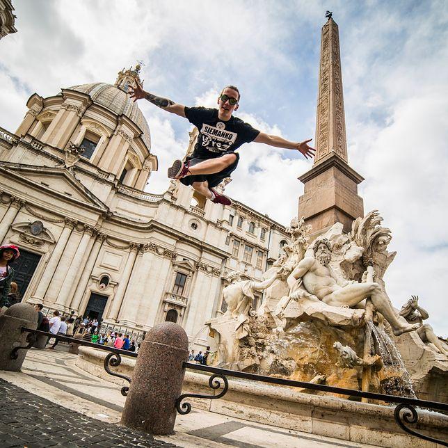 """""""Dancetrotter"""" w Rzymie."""