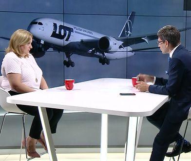 """Stewardessa zwolniona z LOT: """"Samoloty na trasach krajowych są brudne"""""""