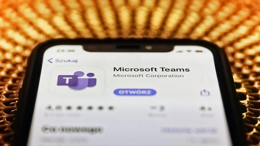 Microsoft Teams dostępny w wersji konsumenckiej, fot. Jakub Porzycki/NurPhoto via Getty Images