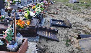 Zabrze. Na cmentarzu zniszczono 29 pomników i 22 krzyże