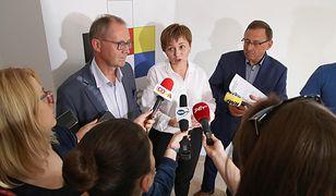 Poseł Ryszard Galla i członkowie Towarzystwa Społeczno-Kulturalnego Niemców (TSKN) na Śląsku Opolskim