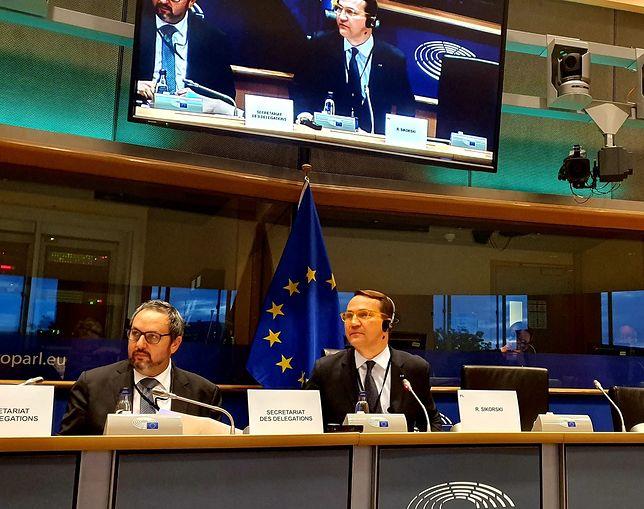 Bruksela. Radosław Sikorski został wybrany na przewodniczącego delegacji Parlamentu Europejskiego ds. relacji z USA