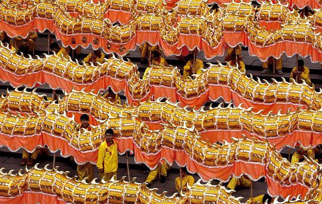 Powitanie Nowego Roku w Chinach