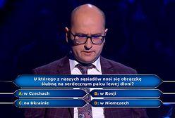 """""""Milionerzy"""": zapytali organistę o palec z obrączką. Hubert nie miał pojęcia"""