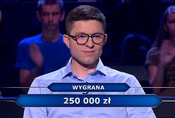 """""""Milionerzy"""": pytanie za 250 tys. zł. Każdy młody znałby odpowiedź"""