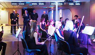 Kołobrzeska Orkiestra Kameralna zagrała na promie Nova Star