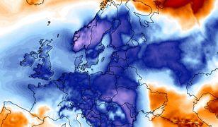 Nie powinno być takich mrozów o tej porze roku - pokazuje analiza Climate Reanalyzer. Jest co najmniej o 10 stopni za chłodno.