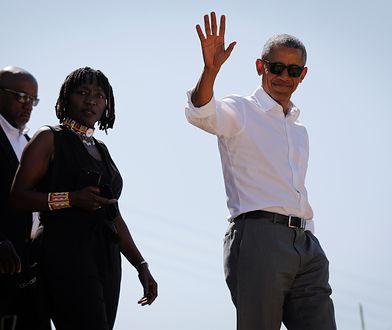 Barack Obama wraca do korzeni. Odwiedził Kenię